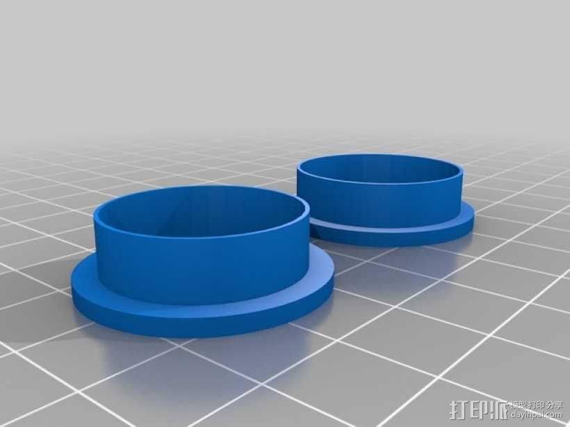 ScribbleJ CoreXY打印机 3D模型  图12