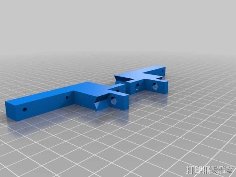 ScribbleJ CoreXY打印机 3D模型  图15