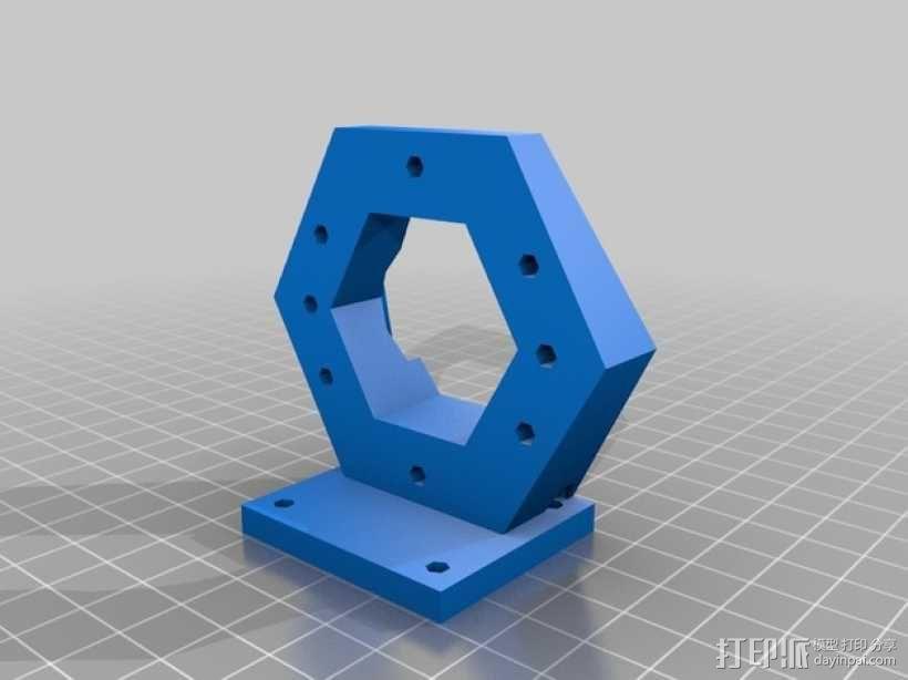 ScribbleJ CoreXY打印机 3D模型  图19