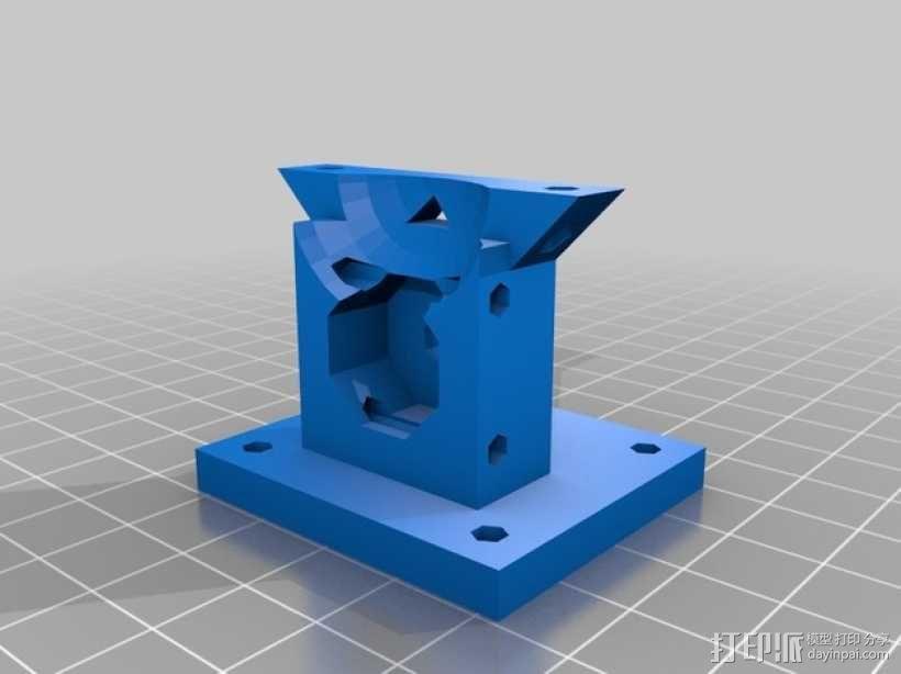 ScribbleJ CoreXY打印机 3D模型  图17