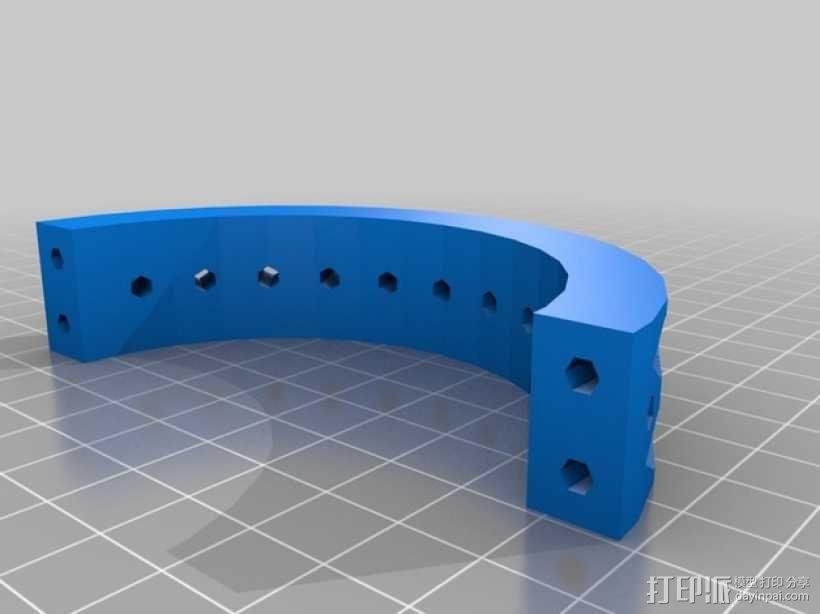 ScribbleJ CoreXY打印机 3D模型  图20