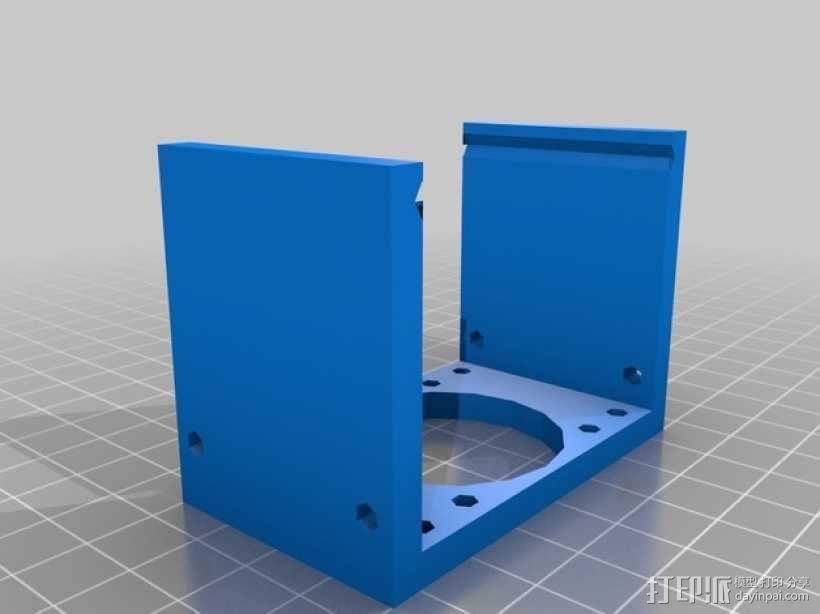 ScribbleJ CoreXY打印机 3D模型  图26