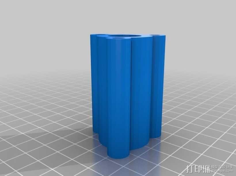 ScribbleJ CoreXY打印机 3D模型  图27