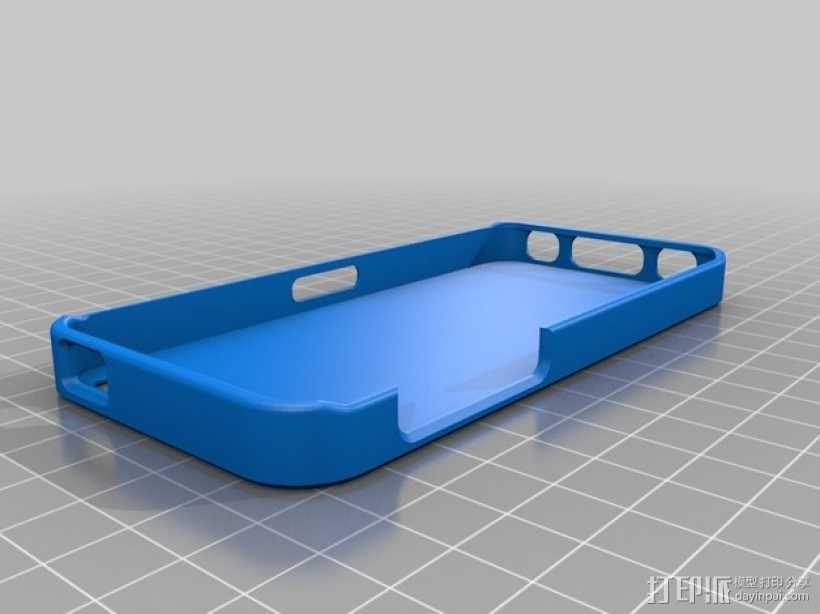 iPhone 5c 手机套 3D模型  图1