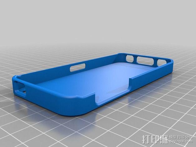 iPhone 5c 手机套 3D模型  图2