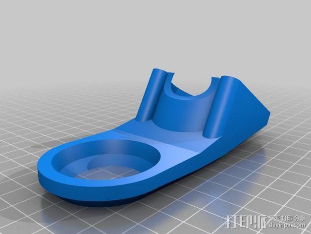 Robo3d打印机通风导管 3D模型  图3