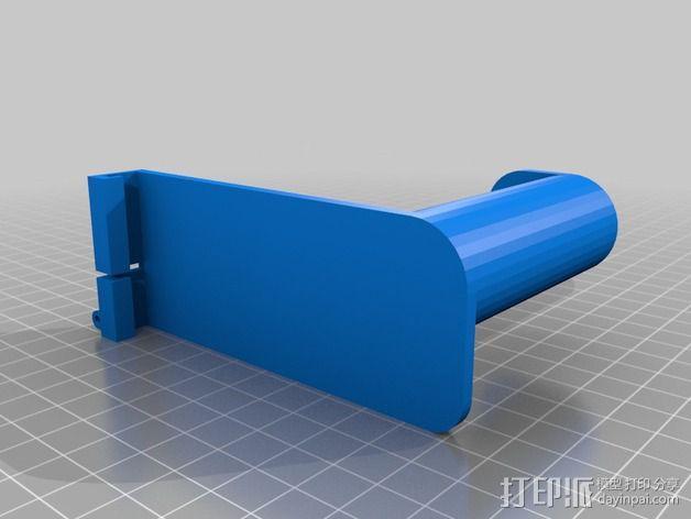 悬挂式线轴架 3D模型  图2