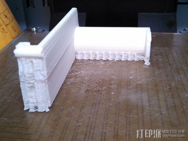 悬挂式线轴架 3D模型  图3