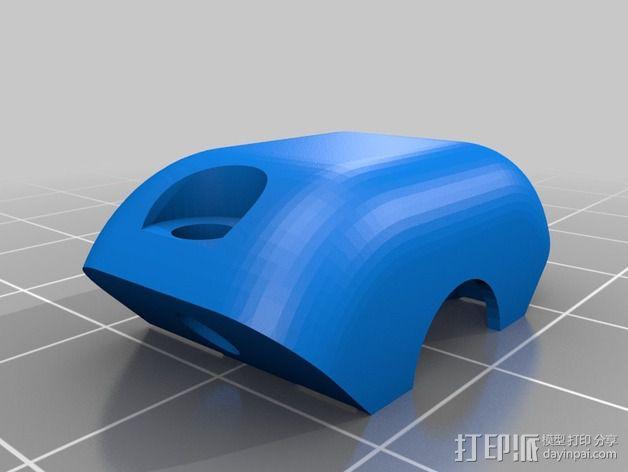 E3D V6固定槽 3D模型  图3