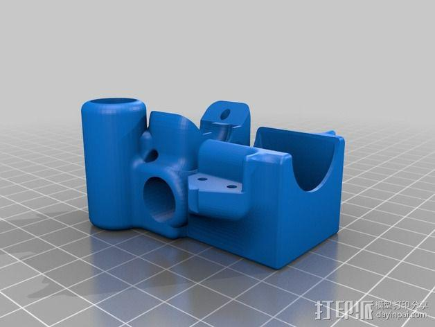 E3D V6固定槽 3D模型  图5