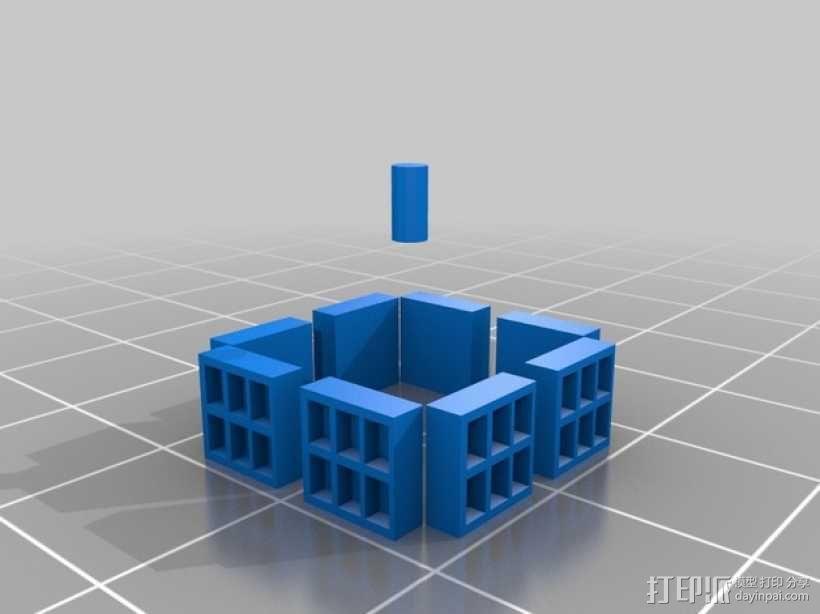 塔迪斯警察亭模型 3D模型  图3