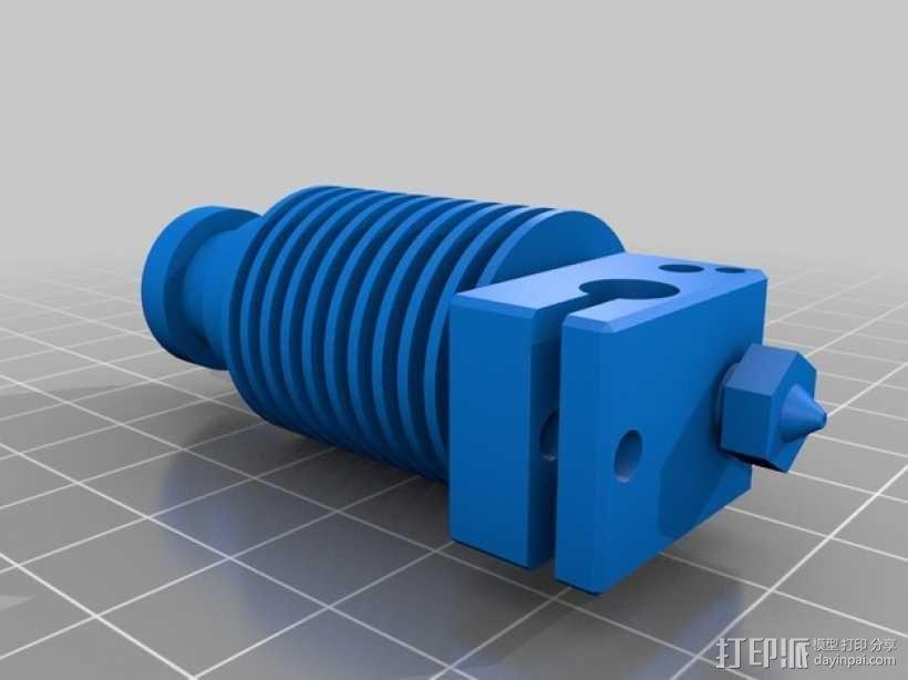 打印机E3D V6喷头  3D模型  图5