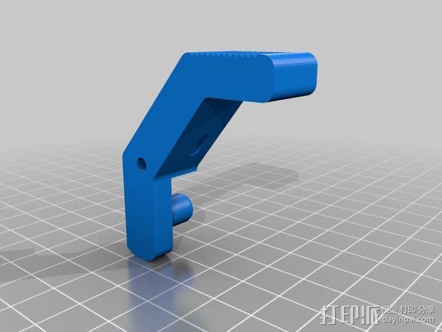 直线挤出机 3D模型  图3