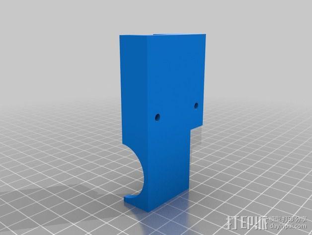直线挤出机 3D模型  图2
