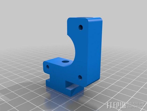 直线挤出机 3D模型  图4