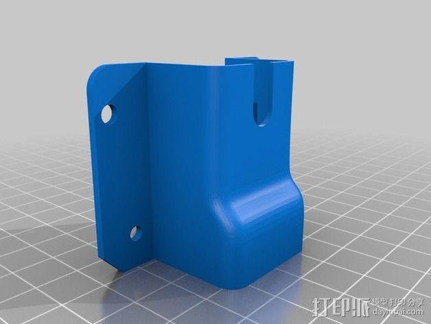 六边形风扇罩 3D模型  图2