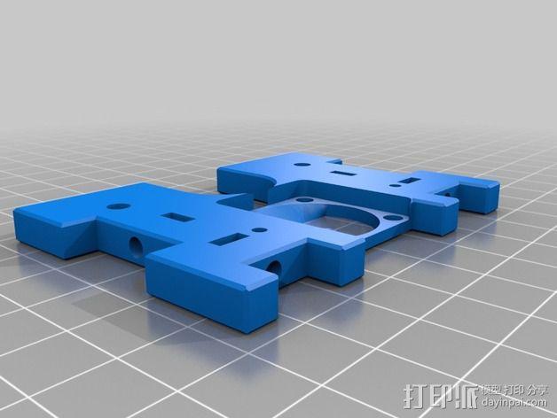 六边形风扇罩 3D模型  图3