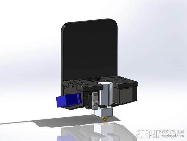六边形风扇罩 3D模型  图7