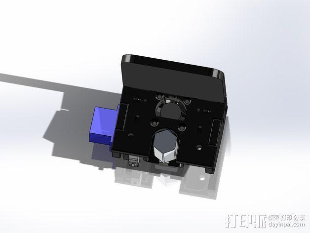 六边形风扇罩 3D模型  图6