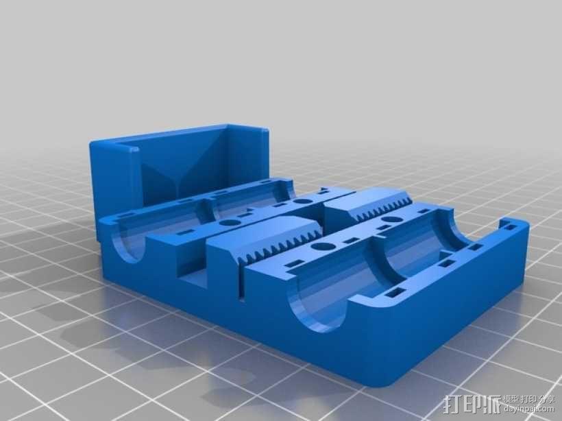 Prusa i3 打印机X轴框架 3D模型  图2