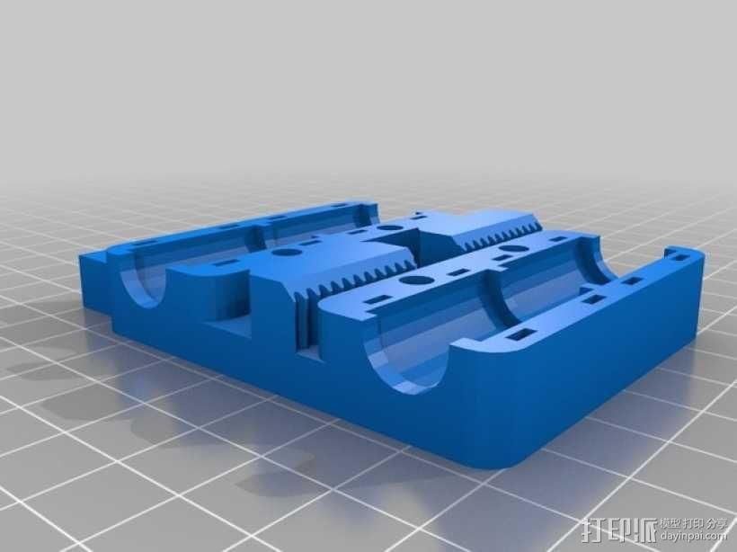 Prusa i3 打印机X轴框架 3D模型  图4