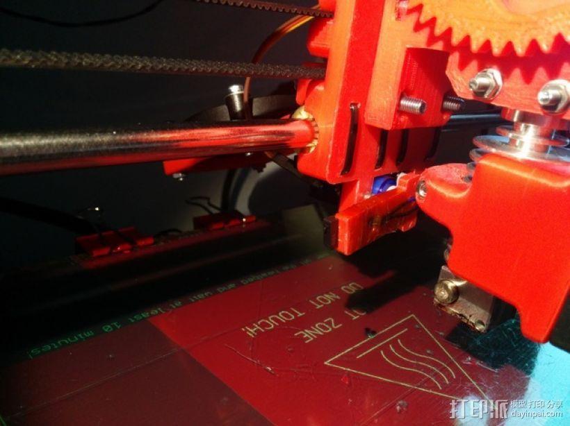 Prusa i3 打印机X轴框架 3D模型  图3