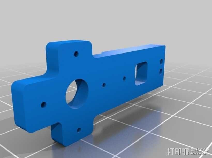 Prusa i3 打印机X轴框架 3D模型  图6