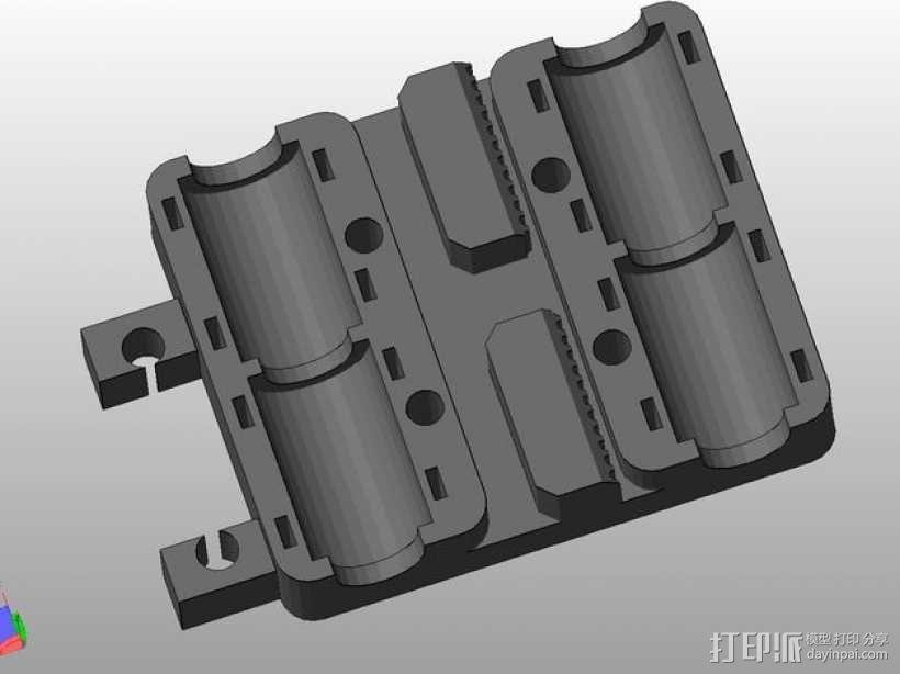 Prusa i3 打印机X轴框架 3D模型  图7