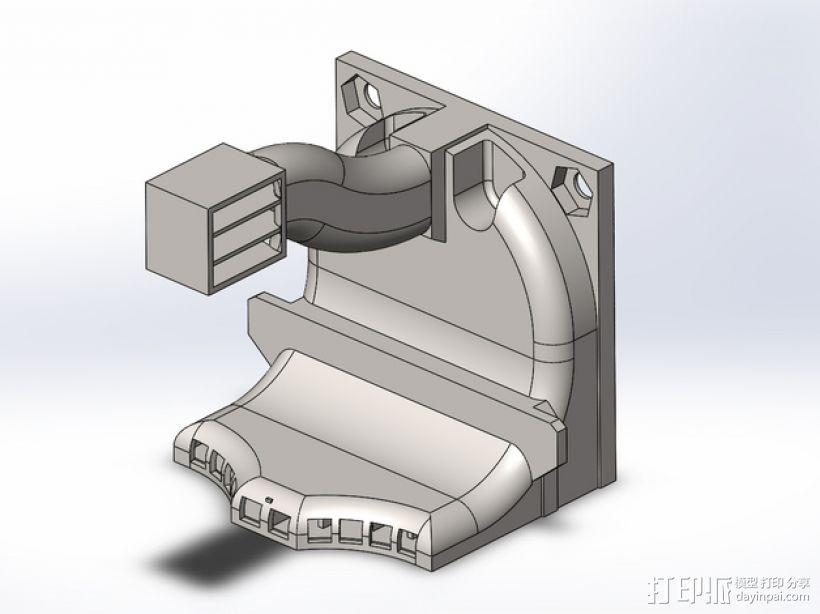 散热管 通风管道 3D模型  图1