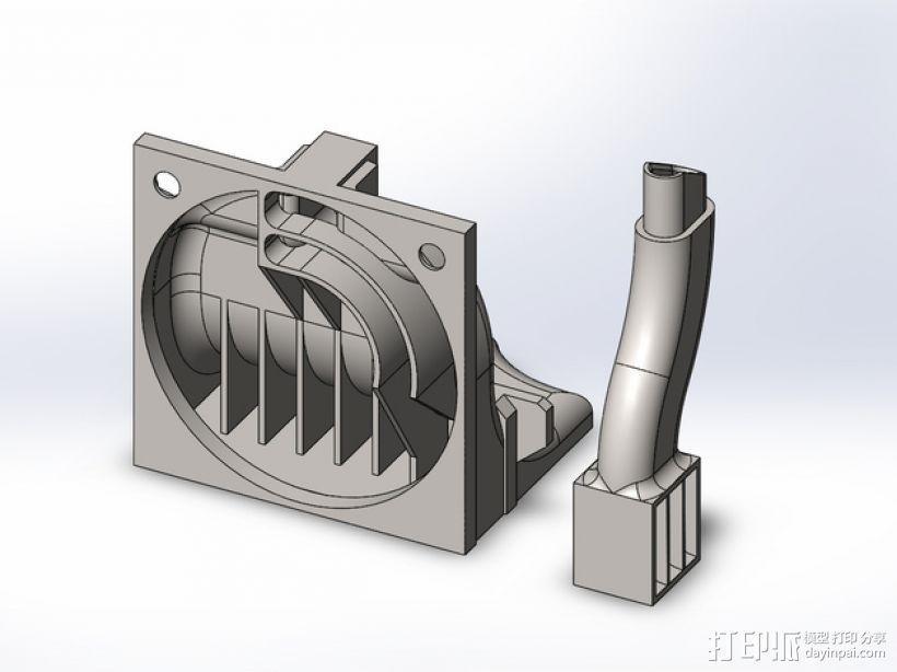 散热管 通风管道 3D模型  图3