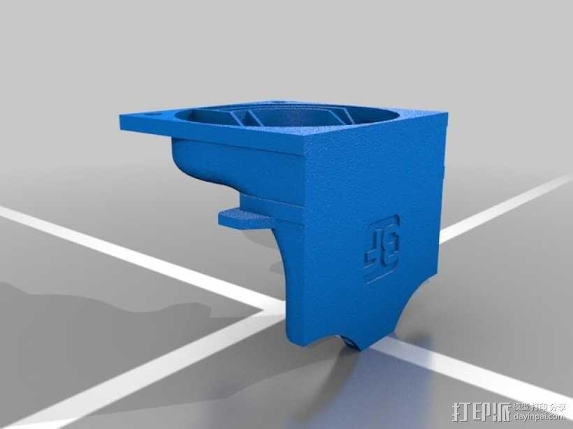 散热管 通风管道 3D模型  图4