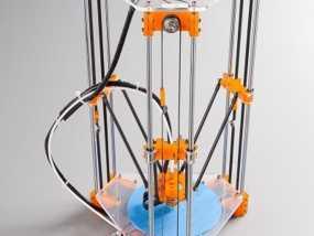 Rostock Mini Pro打印机框架 3D模型