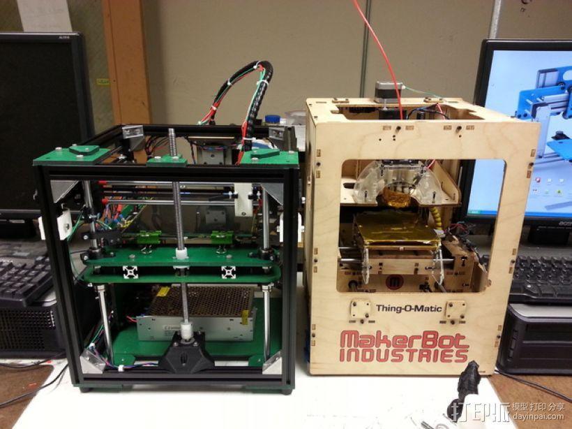 Griffinbot 3D打印机 3D模型  图1