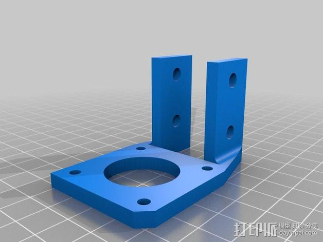 Griffinbot 3D打印机 3D模型  图9
