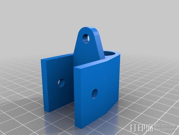 Griffinbot 3D打印机 3D模型  图14