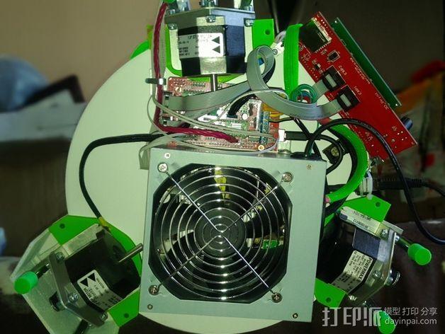 deLtabot 3D 打印机 3D模型  图4