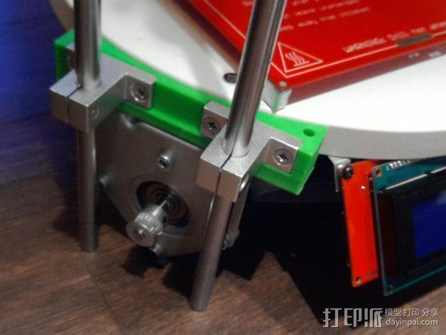 deLtabot 3D 打印机 3D模型  图7