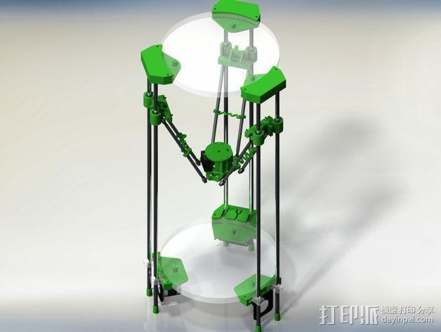 deLtabot 3D 打印机 3D模型  图9
