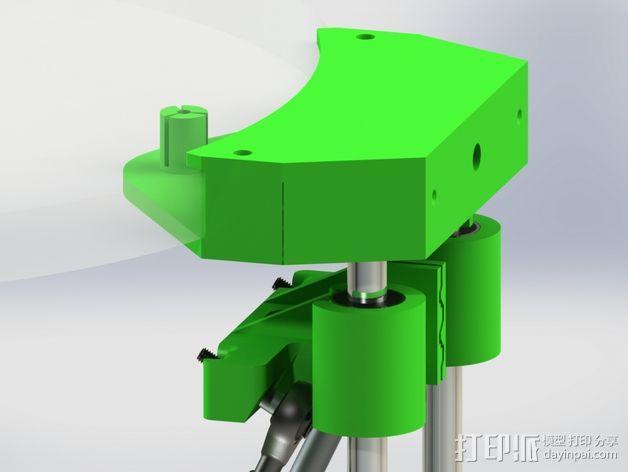 deLtabot 3D 打印机 3D模型  图12