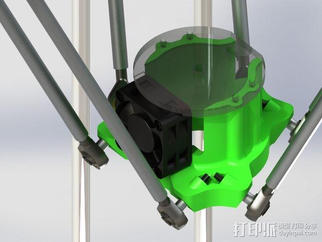 deLtabot 3D 打印机 3D模型  图11