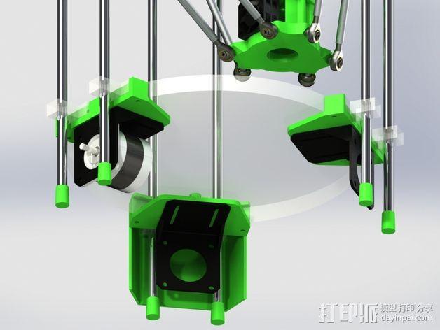 deLtabot 3D 打印机 3D模型  图10