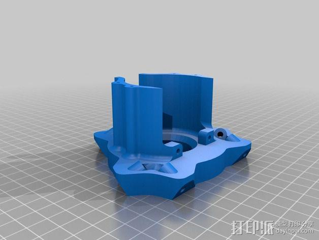 deLtabot 3D 打印机 3D模型  图16