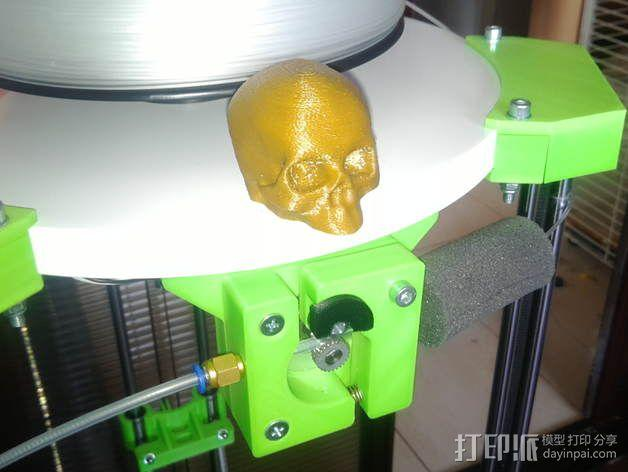 deLtabot 3D 打印机 3D模型  图15