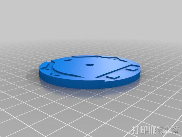 deLtabot 3D 打印机 3D模型  图17
