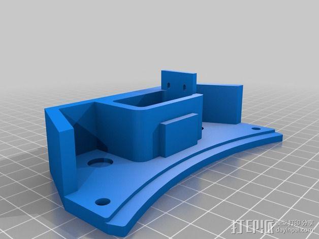 deLtabot 3D 打印机 3D模型  图19