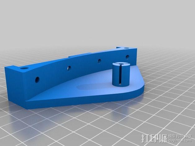 deLtabot 3D 打印机 3D模型  图21