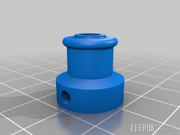deLtabot 3D 打印机 3D模型  图23