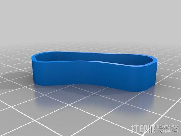 deLtabot 3D 打印机 3D模型  图25