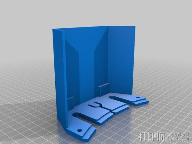 deLtabot 3D 打印机 3D模型  图26