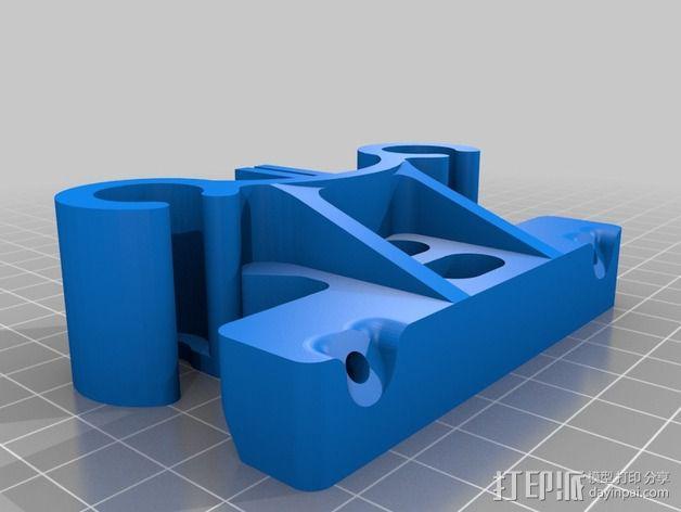 deLtabot 3D 打印机 3D模型  图27